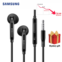 Samsung EG920 Wired Headset with 3.5mm In-Ear Plug Speaker Microphone Earphone Support Android IOS f