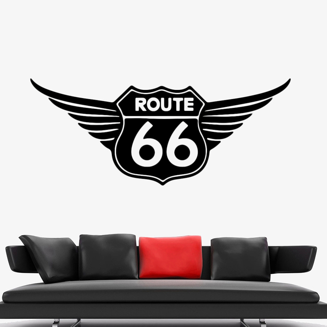 Route 66 Wall Sticker 4