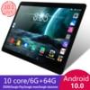 KIVBWY 10.1 inch tablet PC 6GB RAM 64GB ROM 1280*800 tab IPSl SIM Card 4G LTE FDD Wifi Android 10.0 tablet 10.1