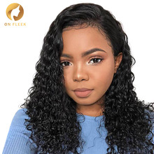 Short lace front human hair wigs for Bla