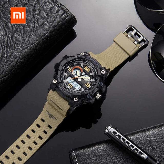 Share To Xiaomi 50ATM Waterproof Electronics Display Watch Time Display Calendar Countdown Outdoor Sport Digital Watch 3