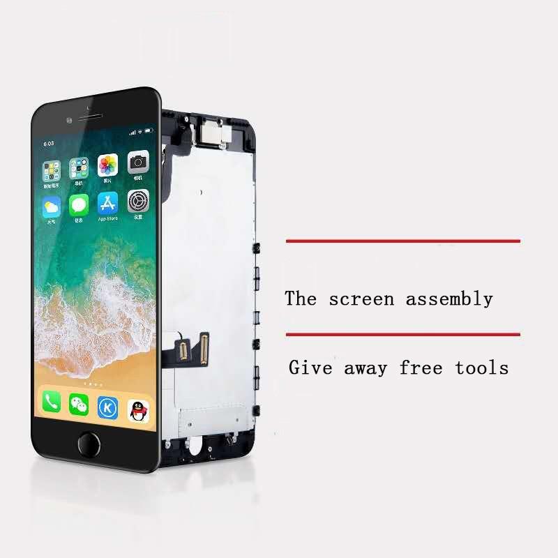 ЖК-дисплей для iPhone 6 6P 6S 6SP 7 7P 8 8P X OLED XS Xsmax, сменный экран с инструментами 3D Touch 100%, тест