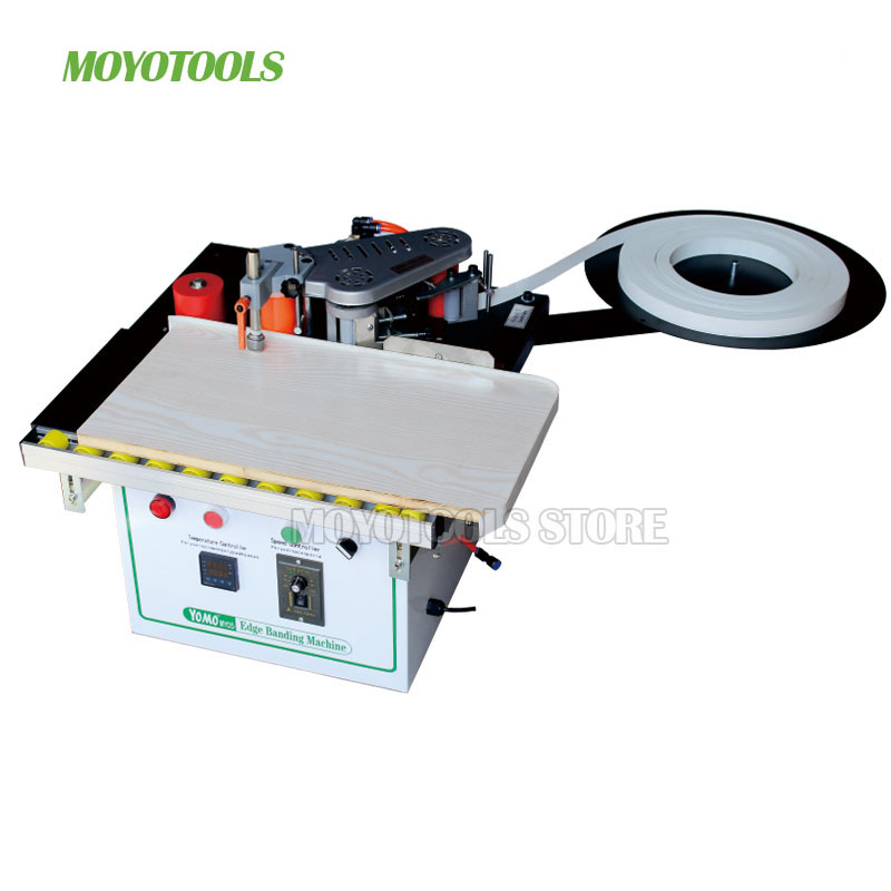 Image 2 - New type MY05/MY06 manual mini edge banding machine with cut pvc automatic woodworking edge banderWood Based Panels Machinery   -