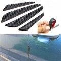 4x анти-столкновения отделкой анти-дверь защитная полоса для края царапин Защитные щитки для края автомобильной двери литья защита углеродн...