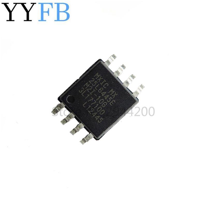 MX25L6445EM2I-10G MX25L6445E 25L6445EM2I-10G 25L6445 SOP8 8MB Flash 64MBit Router Chip Original