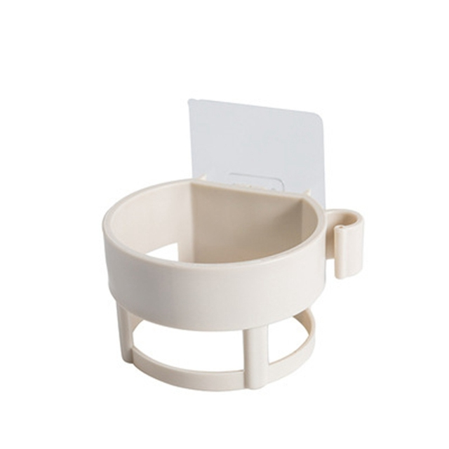 Kaiyan con soporte de secado r/ápido juego de limpieza elegante Escobilla de ba/ño de silicona para montaje en pared