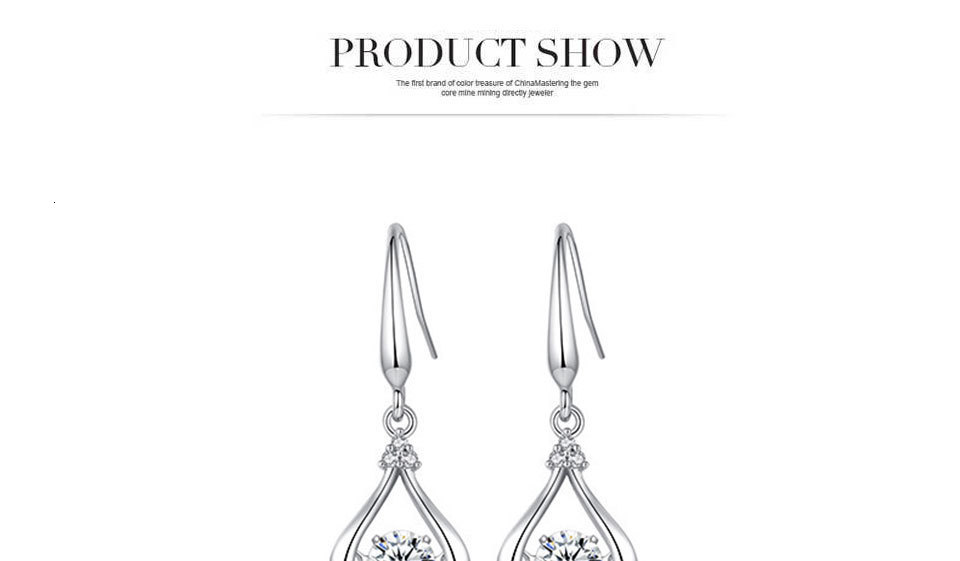 Hf97e1af2ab7f45b5aeed0d16a111dcb0W - WEGARASTI Silver 925 Jewelry Zircon Drop Earrings For Women Real 100% Silver Earring Wholesale Party Wedding Gift Earring Silver
