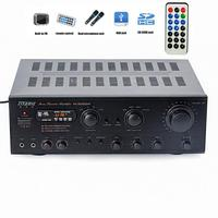 Home 1000W high power amplifier Bluetooth USB FM radio professional stage card package audio HIFI amplifier