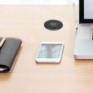 Image 4 - Carregador rápido sem fio universal qi, carregamento rápido para desktop e para iphone samsung huawei mate 20rs p30p