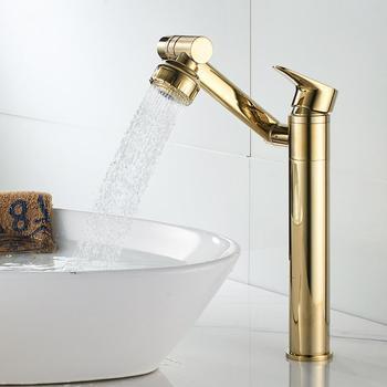 Bateria kuchenna pojedyncza dźwignia wodospad umywalka łazienkowa kran mosiądz antyczne krany ciepłej i zimnej umywalka do łazienki zawory mieszające tanie i dobre opinie GoolBuying CN (pochodzenie) Pojedynczy otwór 2 kg Zawór ceramiczny Klasyczny Posadzona Pojedynczy uchwyt Pojedynczy uchwyt i pojedynczy otwór