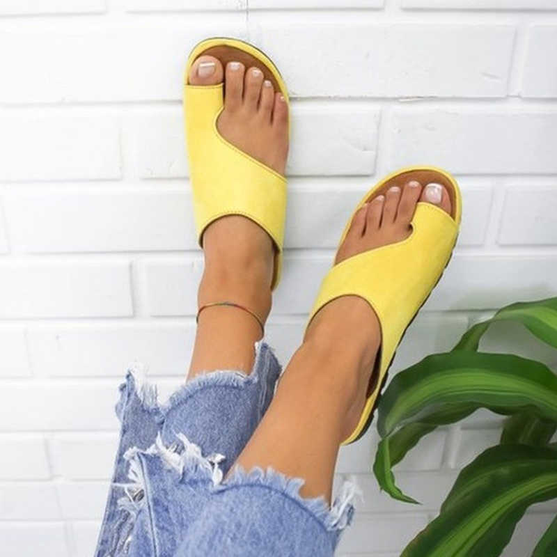 Women slippers  sandals Shoes Comfy Platform Flat Sole Women Slippers Woman sandals Flats Wedges Open Toe Ankle Beach Shoes