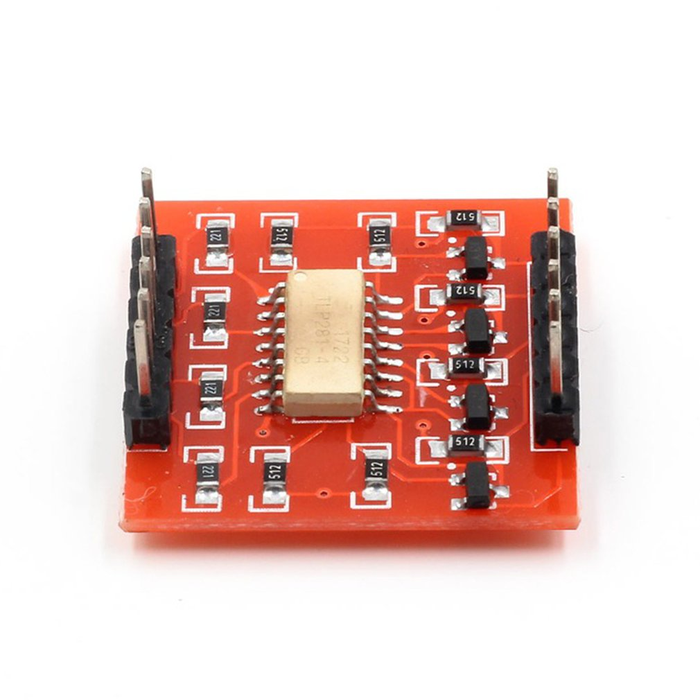 4-channel Optocoupler Isolation Module For Uno R3 High And Low Level Expansion Board Exquisitely Designed Durable