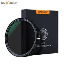 K & f conceito 2-em-1 polarização ajustável cpl nd lente variável filtro 67mm/72mm fader 5-stop ND2-ND32 para câmera canon sony nikon