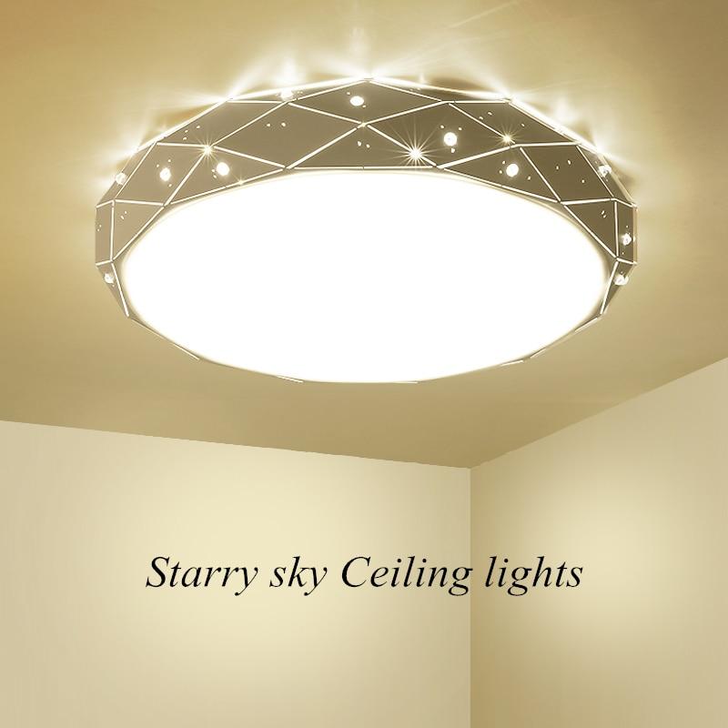 Modern minimalist LED ceiling lamp living room lamp Nordic gloss bedroom ceiling lamp home interior lamp children room lamp
