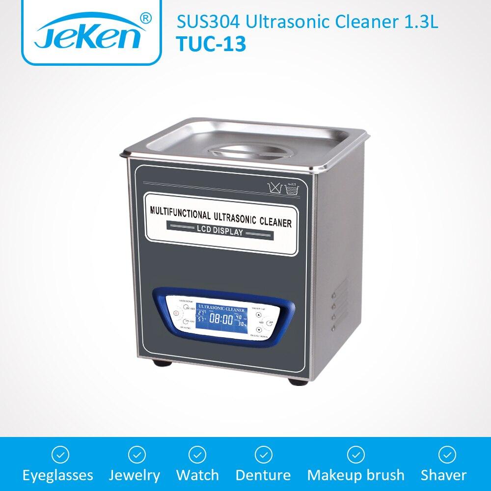 1.3L Laboratory Ultrasonic Cleaner Digital Ultrasound Cleaning Bath TUC-13 Degas Sweep Mini Sonic Tank For Dental Needle PCBs