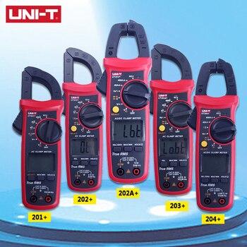 UNI-T Dijital Kelepçe Metre UT201 +/UT202 +/UT203 +/UT204 +/UT202A + 400-600A Otomatik Aralığı True RMS Yüksek Hassasiyetli Multimetre