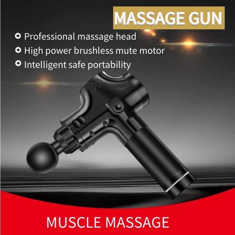 Fitness Ausrüstung Vibration Fascial gun massage muskel entspannen gym workout Ausübung Massager touchscreen - 4
