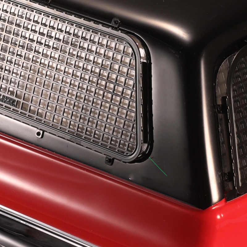 Metal 3d estéreo janela net esquerda traseira direita windows rede para 1:10 traxxas trx4 t4 chevrolet k5 blazer rc peças do carro