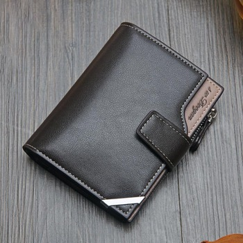 Casual men's wallet Short vertical  2