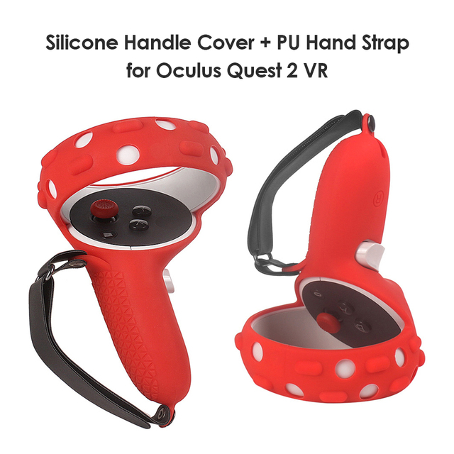 Protection Cover For Oculus Quest 2 VR Accessories Vr Controller Handle Grip Case Silicone Full Protective Sleeve For Quest2 1