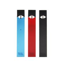 TEEL Pod zestaw do e-papierosa LED power PC duży waporyzator waporyzator zestaw do papierosów elektronicznych pasujący do Juul oil pod tanie tanio Z baterią NONE CN (pochodzenie) Kształt pudełka 18650 Z tworzywa sztucznego TEEL Pod for juul 700 mAh Wbudowane 82 5*15 5*7 5mm