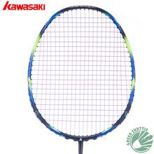 Only 73g 6U Kawasaki Super Light 680 Badminton Racquet 30T Aerofoil Frame Badminton Racket 100% carbon With Free Grip