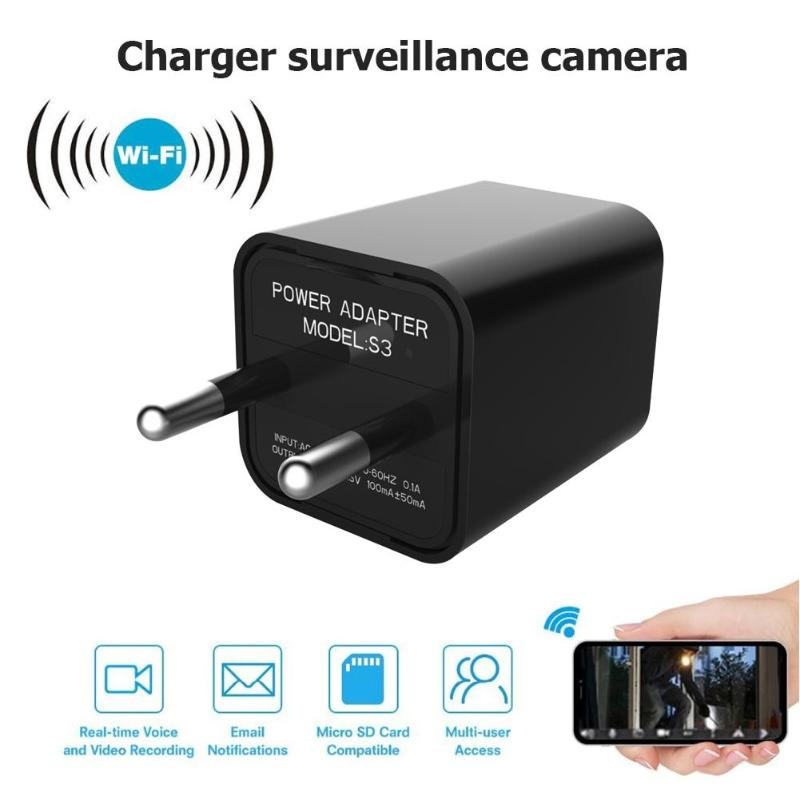 VODOOL Mini Camera Usb-Charger Secret Night-Vision 1080p-Video 1920X1080P Full-Hd Support