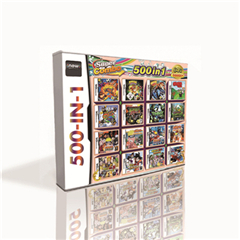 500 In 1 Hot Game Card For DS 2DS 3DS Game Console With Ninja  Arcade Attack Naruto Path Of The Ninja 2 Dragon Ball Z