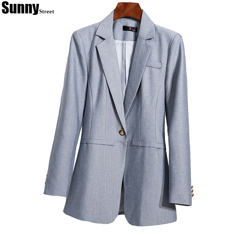 Ladies Pant Suit for Business and Office Color Grey Black Herringbone Twill Blazer with Trousers 2 piece Set