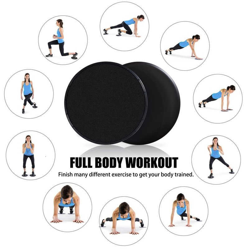 2 pçs/lote forma redonda discos de deslizamento núcleo slider fitness disco exercício placa deslizante treinamento abdominal yoga piso tapete disco
