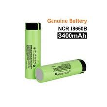 Nowy 100% oryginalny 18650 baterii NCR18650B 3.7v 3400mah akumulator litowy do baterii latarki (bez PCB)