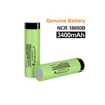 Nowy 100 oryginalny 18650 baterii NCR18650B 3 7v 3400mah akumulator litowy do baterii latarki (bez PCB) tanie i dobre opinie Blmpow NCR18650B 3400mAh Li-ion 3001-3500 mAh CN (pochodzenie) Baterie Tylko Pakiet 1 1-20 NCR18650B Battery 3300-3400 mAh