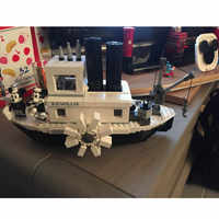 Lepining Hot Sale Mickeied Steamboat Willie Set Model 16062 21317 Building Block Bricks toy for Gifts Kids Christmas