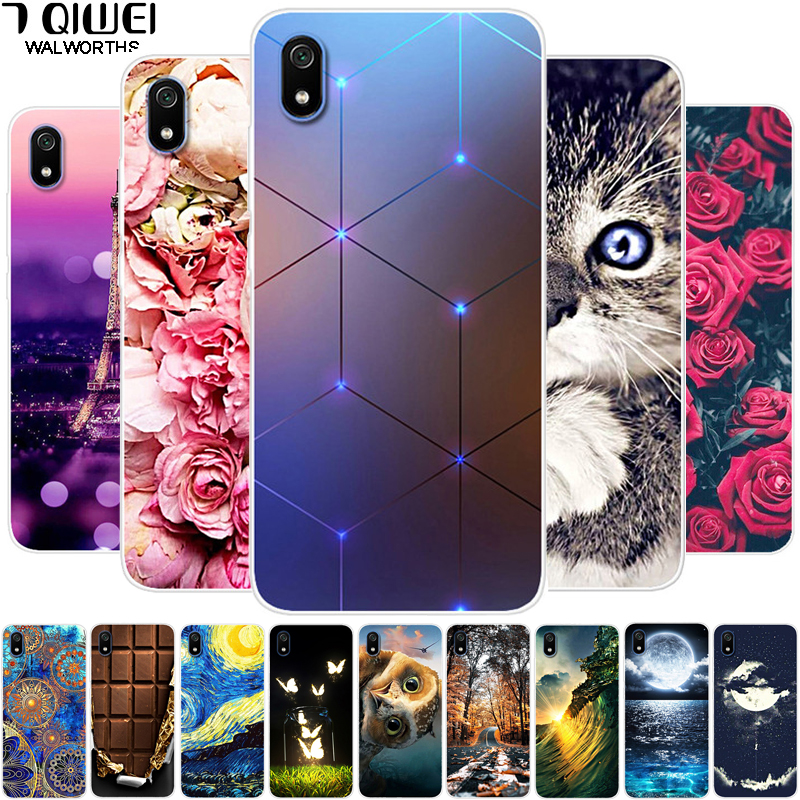 For Xiaomi Redmi 7A Case Silicone soft Phone cases for Xiaomi Mi 10 Case Redmi7A TPU Cover Poco X2 Mi 10 Pro Coque Mi10 Cases