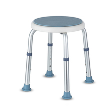 Rotatable stool Non-slip Bath Chair 6 Gears Height Adjustable Pregnant woman Elderly Bath Tub Shower Chair Seat Safe Bathroom