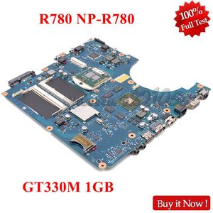 NOKOTION BA92-06145A BA92-06145B BREMEN-M For Samsung NP-R780 R780 17 Inch laptop motherboard HM55 DDR3 GT330M 1GB free cpu