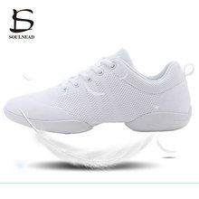 Women's Aerobics Shoes Girls Lightweight Mesh Breathable Sne