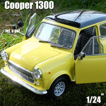 WELLY 1:24 MINI COOPER 1300 Car sports car simulation alloy car model crafts decoration collection toy tools gift штопор stellar cooper tools se05