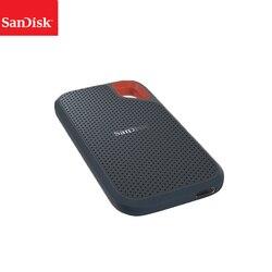 سانديسك محمول خارجي SSD 1 تيرا بايت 500 جيجابايت 250 جيجابايت 550 متر قرص صلب خارجي SSD USB 3.1 HD وسيط تخزين ذو حالة ثابتة/ القرص الصلب أقراص بحالة صلبة لأ...