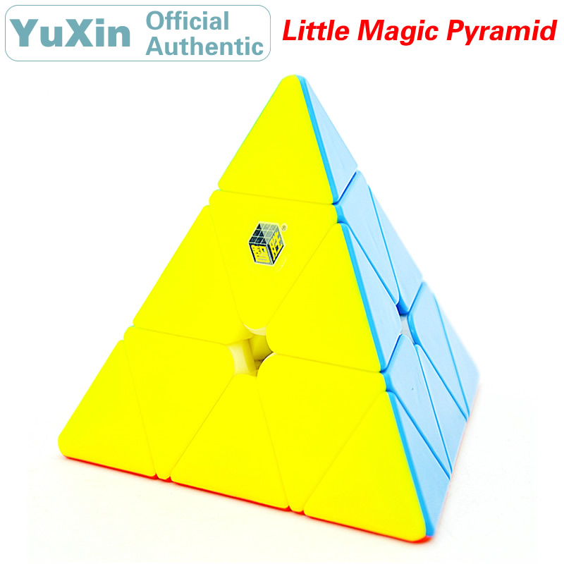 YuXin Little Magic 3x3x3 Pyraminxeds Magic Cube ZhiSheng 3x3 Pyramid Speed Twisty Puzzle Brain Teasers Educational Toys For Kids