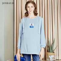 2019 maternity dress autumn new fashion pregnant tops maternity T shirts large size breastfeeding shirt pregnancy shirt JoyRay.B