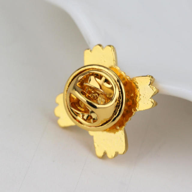 Japon jeu Sitcom héros Phoenix Wright Ace avocat Logo jaune broches avocat procureur juge métal homme femmes broche