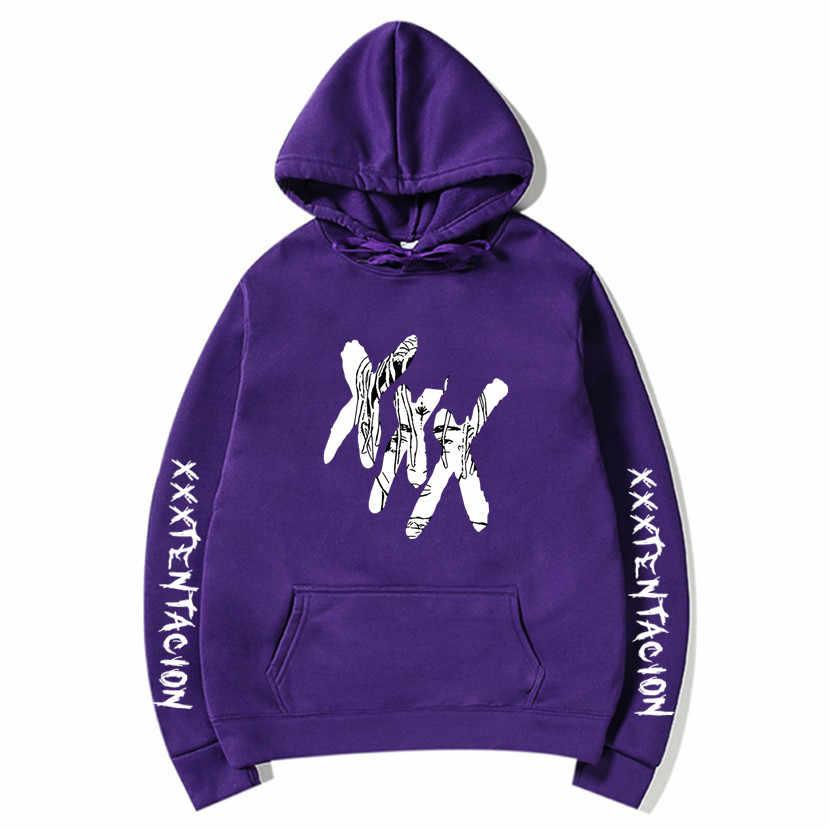 2020 XXXTentacion Hoodies Männer/Frauen Casual Pullover Streetwear Sweatshirt Sudadera Hombre Harajuku Männlichen Haube Crewneck 3XL