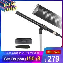 Synco Mic D2 hiper cardióide microfone condensador direcional com conector xlr gravação de vídeo profissional para filmadoras telefone dslr