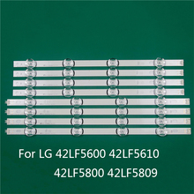 LED TV Illumination Part Replacement For LG 42LF5600 42LF5610 42LF5800 42LF5809 LED Bar Backlight Strip Line Ruler DRT3.0 42 A B