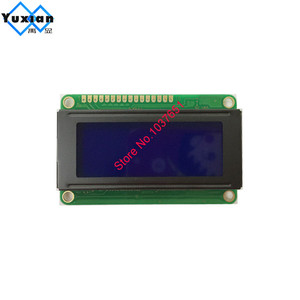 Image 3 - free shipping 2PCS small mini size 2004 20*4 lcd display 77*47mm Blue 5v 2004E instead WH2004D PC2004 C