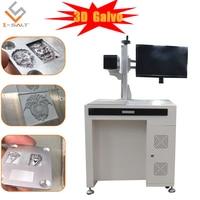 Ring laser marking machine raycus fiber laser 30w qr code laser engraving machine for name necklace cutting