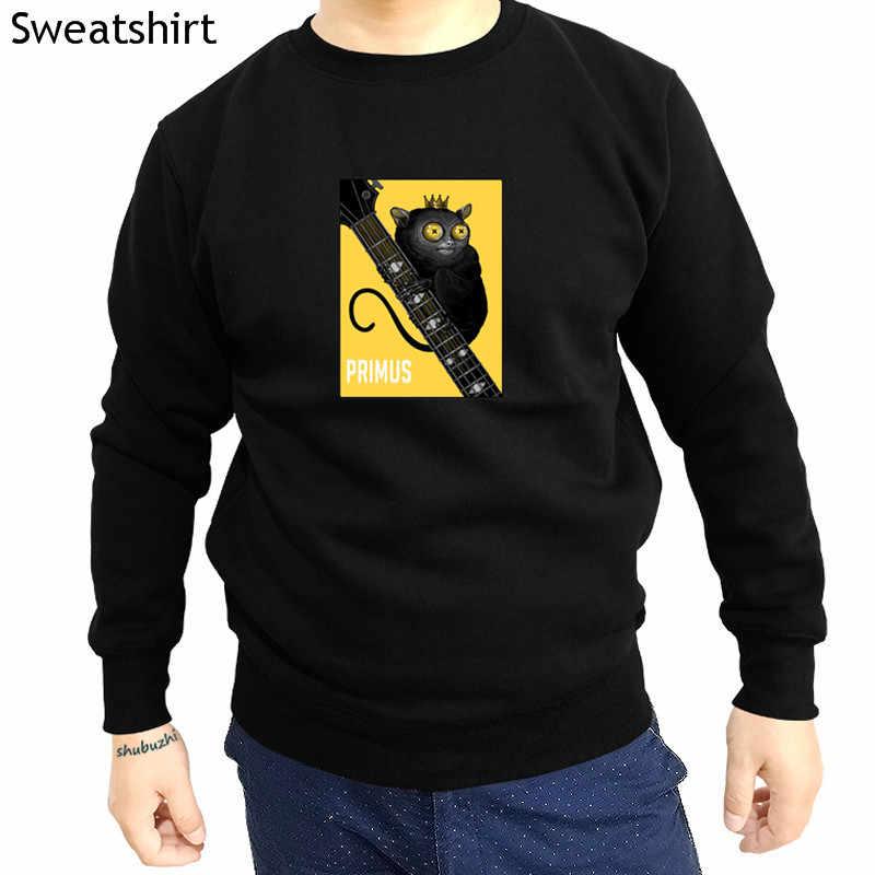 뜨거운 판매 멋진 남자 PRIMUS 남자 스웨터 패션 캐주얼 후드 코 튼 금속 펑크 록 클러치 Weezer 그래픽 밴드 hoody sbz4250