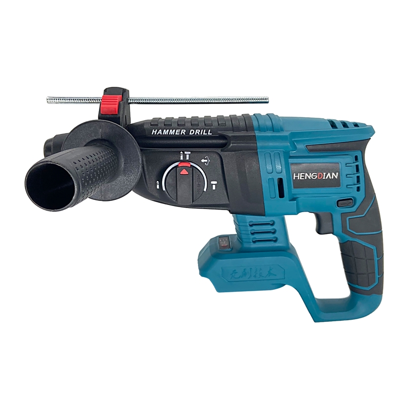 18V 26mm Electric Cordless Brushless Impact Rotary Hammer Drill Rechargeable Hammer Drill Without Battery & Case