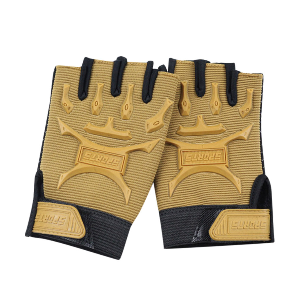 Children Sport Gloves for Training with Wrist Support for Fitness winter guantes tactical gloves handschoenen fingerless luvas 5